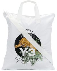 Y-3 - Tiger Patched Tote Bag - Lyst