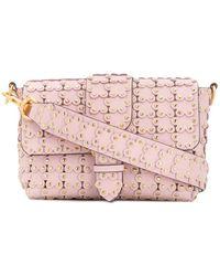 0c694ba18 Gucci Dionysus Medium Appliquéd Shoulder Bag in Natural - Lyst