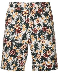 Loveless - Floral Print Shorts - Lyst