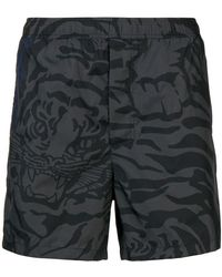 Valentino - Tiger Camouflage Swim Shorts - Lyst
