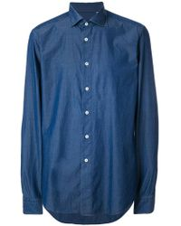 Dell'Oglio - Classic Long-sleeve Shirt - Lyst