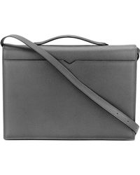 Valextra - Top Handle Messenger Bag - Lyst