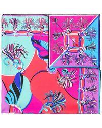 Emilio Pucci - Frida Print Square Scarf - Lyst