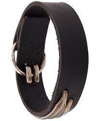 Werkstatt:münchen - Contrast Material Bracelet - Lyst
