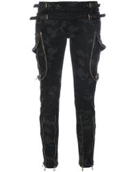 Faith Connexion - Camouflage Skinny Trousers - Lyst