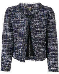 Liu Jo - Cropped Tweed Jacket - Lyst