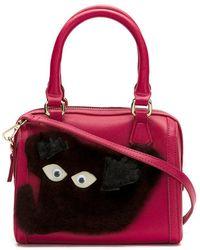 Serpui - Embellished Leather Mini Bag - Lyst