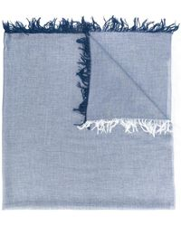 Dondup - Fringed Scarf - Lyst