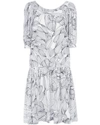 Isolda - Printed Dress - Lyst