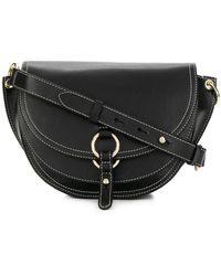 Tila March - Contrast Trim Shoulder Bag - Lyst