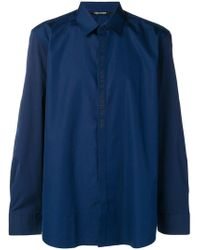 Neil Barrett - Navy Series Shirt - Lyst