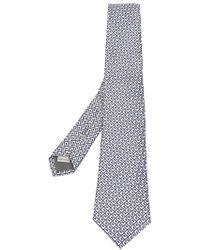 Canali - Geometric Print Tie - Lyst