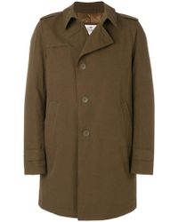Herno - Single Breasted Coat - Lyst