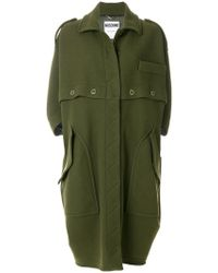 Moschino - Military Style Coat - Lyst