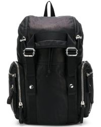 Diesel Black Gold - Buckled Backpack - Lyst