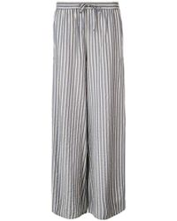 Onia - Chloe Wide Striped Trousers - Lyst