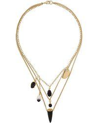 Isabel Marant - Scarabe Charm Necklace - Lyst