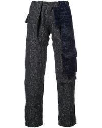 Cottweiler - Contrast Detail Trousers - Lyst