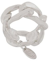 Wouters & Hendrix - A Wild Original! Statement Chunky Chain Ring - Lyst