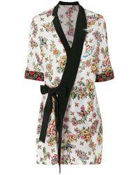 Anjuna - Belted Kimono Blouse - Lyst