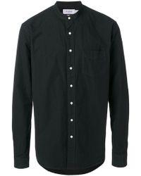 Schnayderman's - Round-neck Button Shirt - Lyst