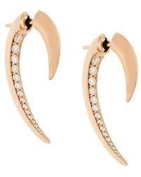 Shaun Leane - 'hook' Diamond Earrings - Lyst