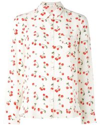 Chinti & Parker - Cherry Pyjama Shirt - Lyst