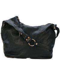Guidi - Zipped Messenger Bag - Lyst