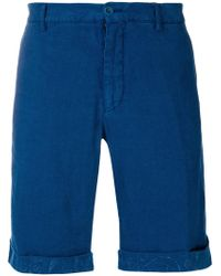 Etro - Bermuda Beato Washed Shorts - Lyst
