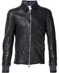 Guidi - Zipped Jacket - Lyst