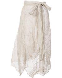 Veronique Leroy - Asymmetric Skirt - Lyst