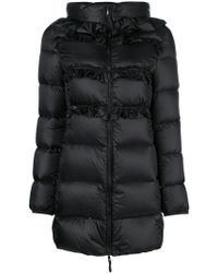 Twin Set - Hooded Padded Jacket - Lyst