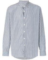 Ferragamo - Classic Striped Shirt - Lyst
