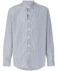 Ferragamo - Classic Striped Shirt - Lyst