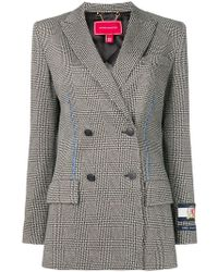 Tommy Hilfiger - Houndstooth Double-breasted Tailored Jacket - Lyst