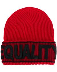 Versace   Equality Beanie   Lyst