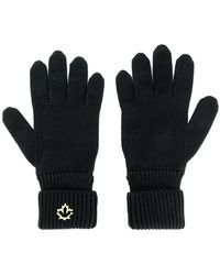DSquared² - Logo Plaque Gloves - Lyst