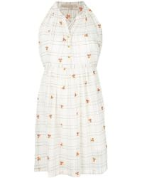 Vanessa Bruno - Floral Embroidery Dress - Lyst