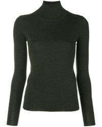 JOSEPH - Turtle-neck Fitted Top - Lyst