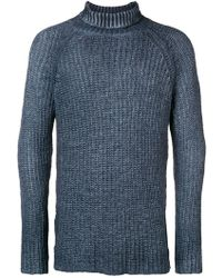 Avant Toi - Knitted High Neck Jumoer - Lyst