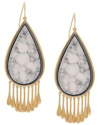 Aurelie Bidermann - Drop-shaped Earrings - Lyst