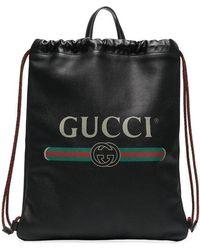 Gucci - Zaino con coulisse - Lyst