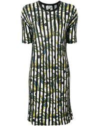 KENZO Striped Day Dress