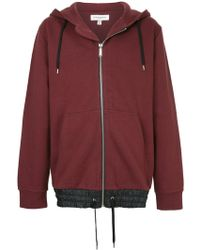 Public School - Zipped Hooded Sweatshirt - Lyst