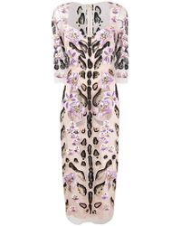 Temperley London - Pardus Fitted Dress - Lyst