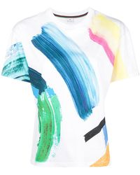 PS by Paul Smith - Paint Stroke T-shirt - Lyst