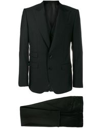 Dolce & Gabbana Классический Костюм-двойка - Черный