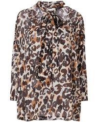 Sonia Rykiel - Leopard Print Blouse - Lyst