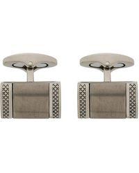 Tateossian - Engraved Rectangular Cufflinks - Lyst
