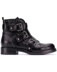 Albano - Buckled Ankle Boots - Lyst
